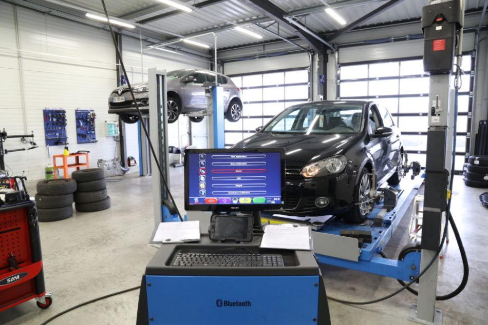 Équipement atelier automobile carrosserie EPS