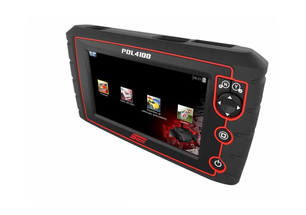 Tablette Diagnostic PDL 4100, le système d'information et de diagnostic pour garage et carrosserie